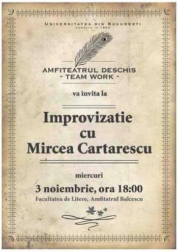 Afis Cartarescu